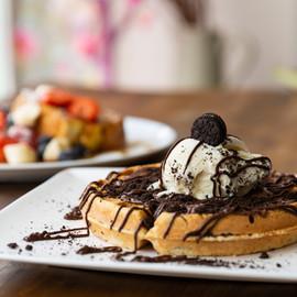 oreo waffles