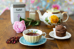 tea and cupcakes