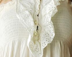 White Blouse Close Up