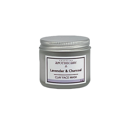 Lavender & Charcoal Face Mask
