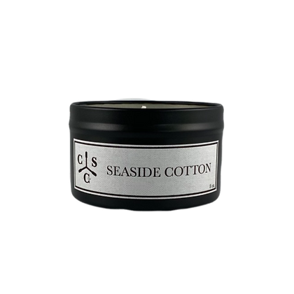 Seaside Cotton Candle