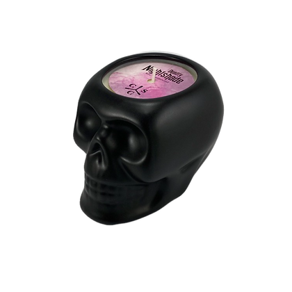 Deadly Nightshade Skull Candle