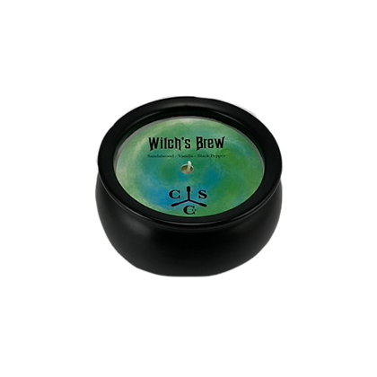Witch's Brew Cauldron Candle