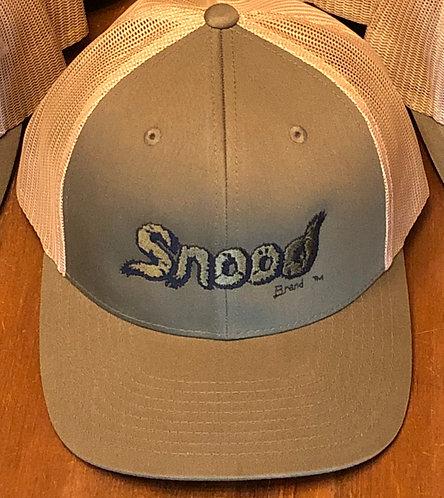 """Green """"Snood"""" snap back cap"""