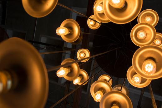 Luminarias individuales tipo industrial