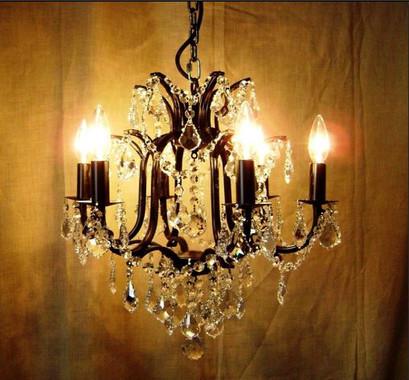 Candil barroco 6 luces