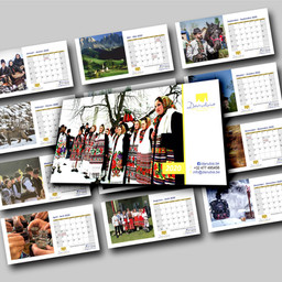 Danubia Calendar design