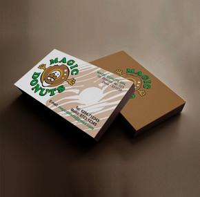 Magic Donuts business card