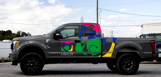 Truck decals