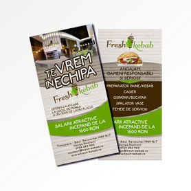 Fresh Kebab flyer