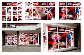 Sport Outlet facade wrap