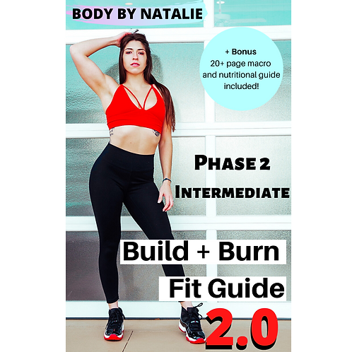 Build + Burn FitGuide Phase 2