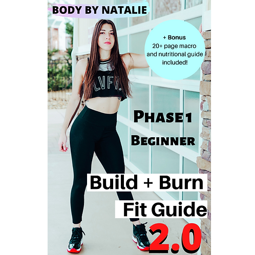 Build + Burn FitGuide Phase 1