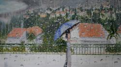 Spring Rain in Zikhron