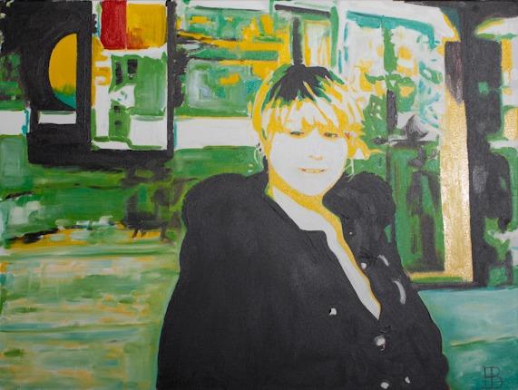 Painting of Dana