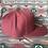 Thumbnail: Maroon Hat, Beige West River Bull (full back)
