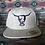 Thumbnail: Light Grey Heather Hat (full back)
