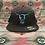 Thumbnail: Black Flex Fit Hats (full back)