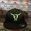 Thumbnail: Black Yupoong Flexfit hat Size L/XL (Full back)