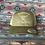 Thumbnail: Low Profile Olive Hat, Beige West River Bull