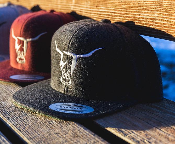 Wool Grey Hat, West River Bull