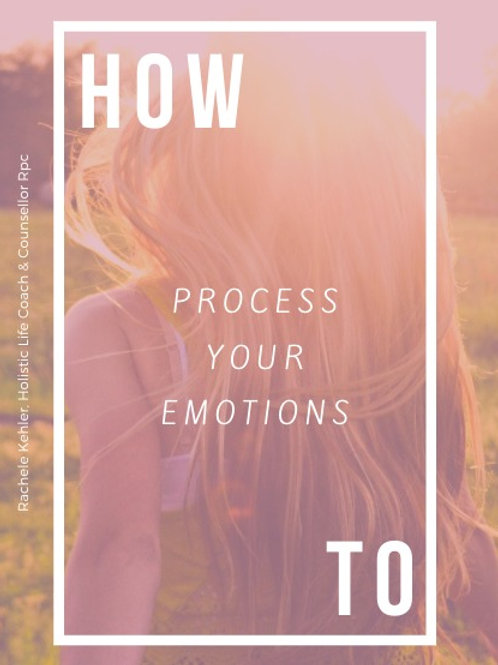 How To Process Your Emotions- Workbook