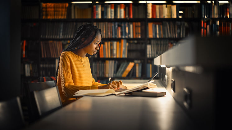 University Library: Gifted Black Girl us