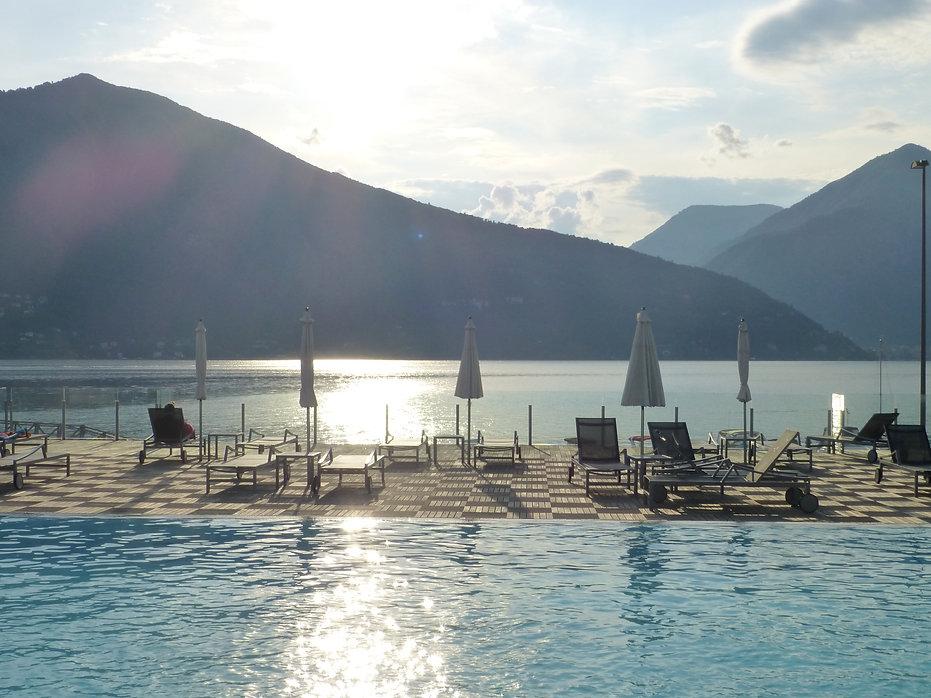 zwembad - Lago Maggiore - Maccagno
