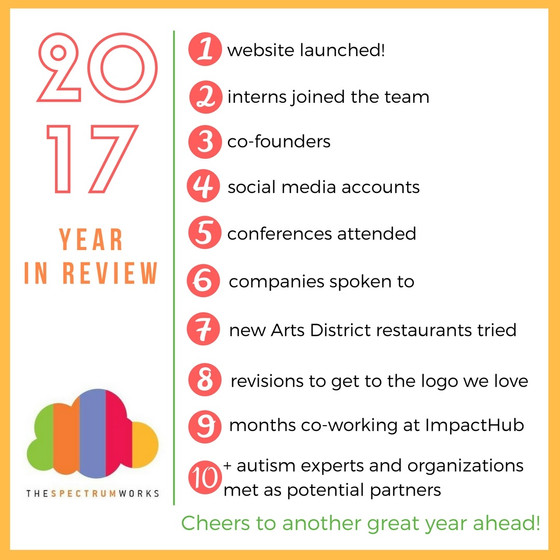 Reflections on 2017 - Our First Year!
