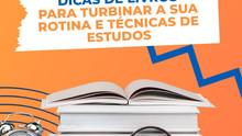 Dicas de livros para turbinar sua rotina e técnicas de estudos.