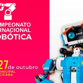 Piracicaba sedia 2° Campeonato Internacional de Robótica IYRA.