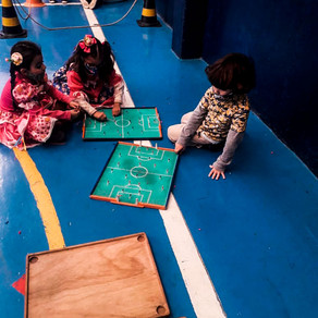 Metro Arraiá no Ensino Infantil