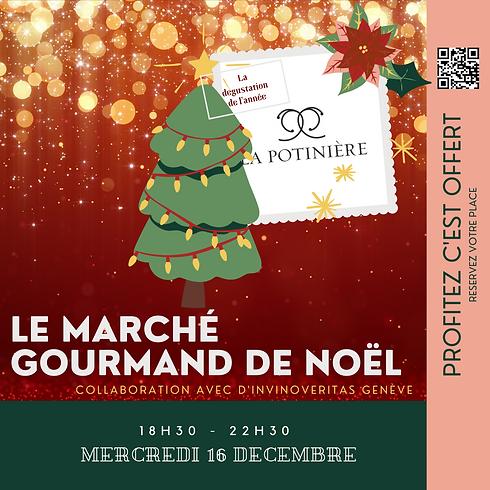 Marché Gourmand de Noël ! La dégustation de l'année !