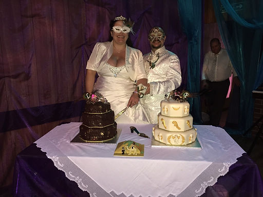 cutting cake wedding music service special event reception marriage bride masked ball waterford ireland