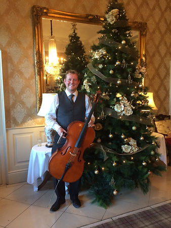 christmas party reception music string cello violin suirstrings waterford ireland
