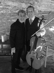 Eddie Jordan son's wedding waterford performed by suirstrings solo cello violin good music wedding breakfast