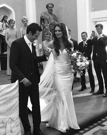 Sarah and Darragh Buckley wedding at crooke church county waterford 2019