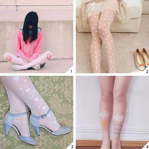 Como usar meia-calça!