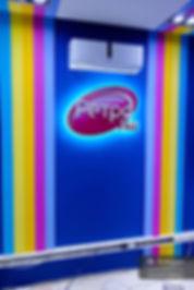 Интерьерный логотип Ретро Fm