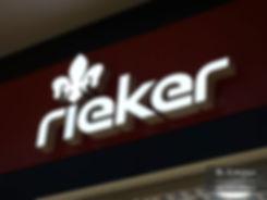 Объемные буквы Rieker Тюмень