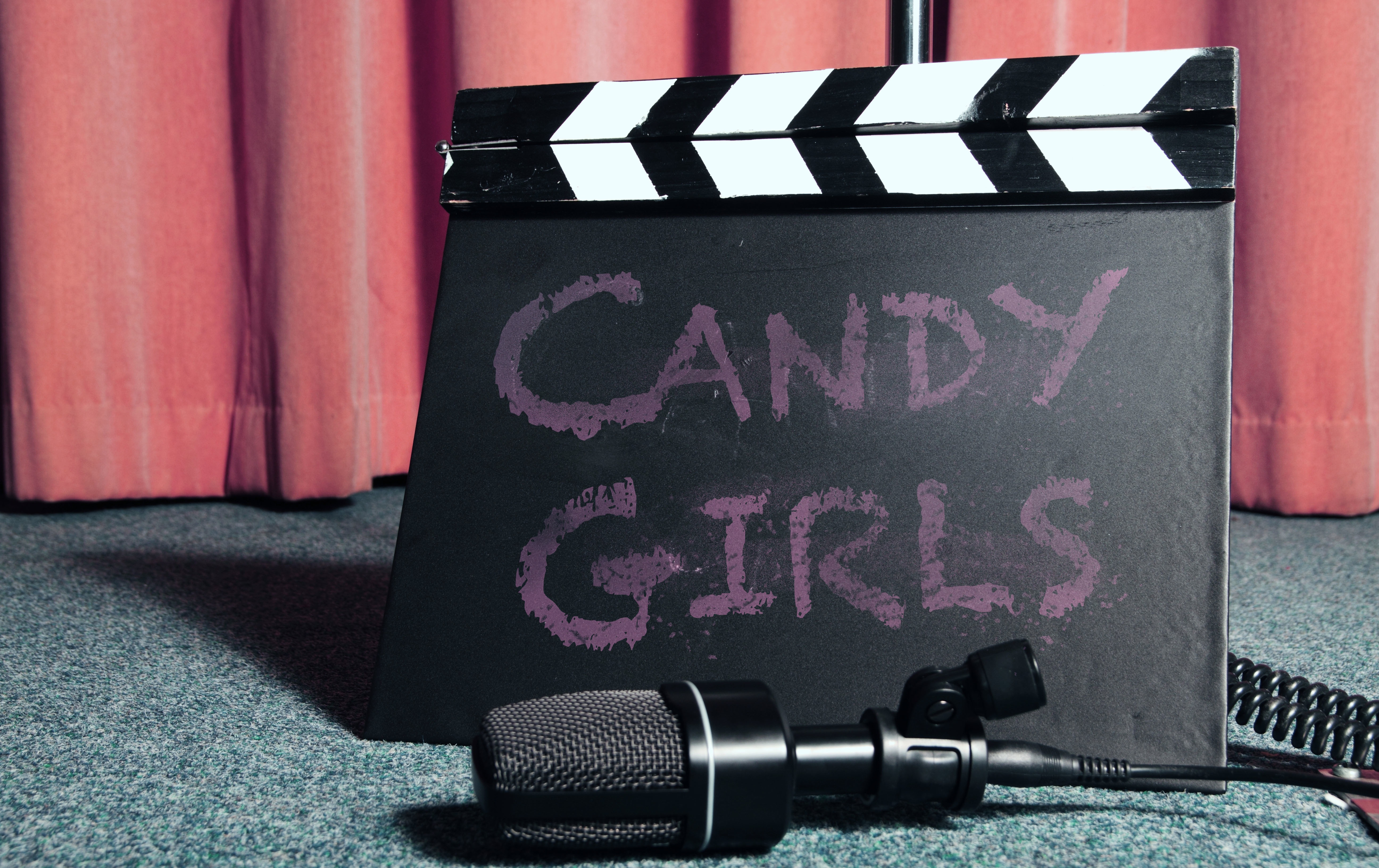 The Candy Girls clapper board