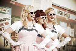The Candy Girls at Goodwood