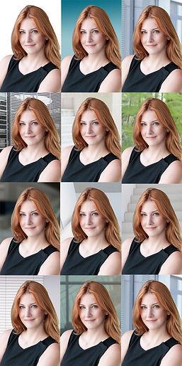 Bewerbungsfotos individuell