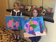 our fish paintings