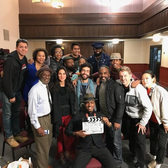 Hal King Crew, NY; Phase 2- Last day on set!