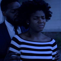 Sharaé Moultrie as Kat and Dion Davis as Scroop