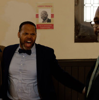 Darien Dean as Hotspur, Eric Roberson as Henry King and Tony McClendon as Leroy French