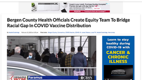 Bergen County Health Officials Create Equity Team to Bridge Racial gap in COVID Vaccine Distribution