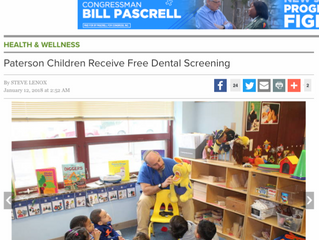 Paterson Children Receive Free Dental Screening