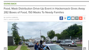 GBCA and Table to Table Hosted Food and Mask Distribution Drive-Up Event in Hackensack